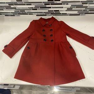 Never worn.  Super cute Burberry coat